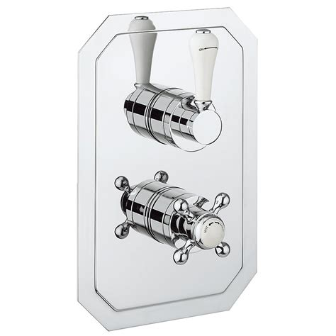 2 Way Thermostatic Shower Valve by Crosswater Belgravia Lever Thermostatic Shower Valve