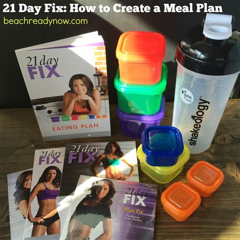 how to create a 21 day fix meal plan weekly meal planner 21 day fix how to create a meal plan