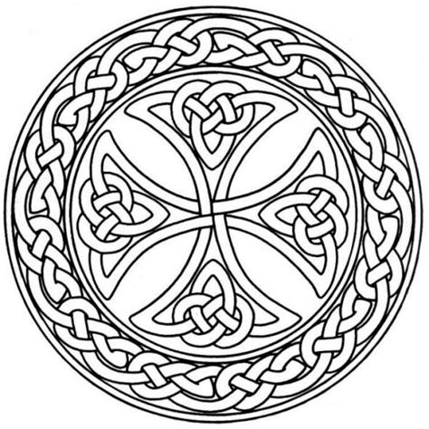 cross mandala coloring pages 25 best ideas about celtic mandala on celtic