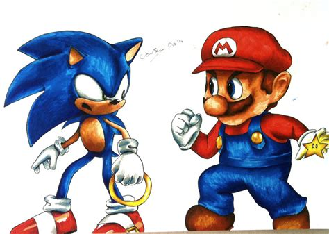 mario console sonic and mario console wars by connieiscrazy on deviantart