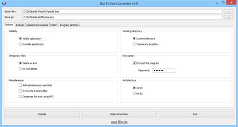 download free software how to convert a bat file to exe
