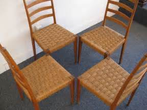 woven dining room chairs set of four italian ladder back woven seat dining chairs