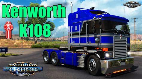 american truck kenworth kenworth k108 interior v2 0 1 6 x 187 american truck