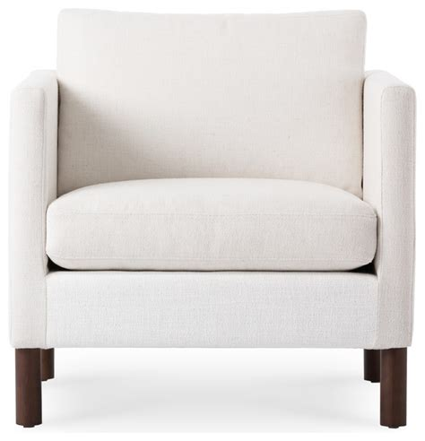 nova creamy white armchair contemporary armchairs and
