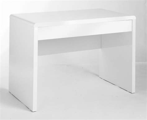 White Gloss Desk by High Gloss White Office Desk Exile Office Reality