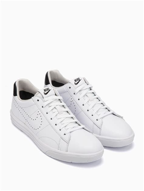 nike white sneaker nike tennis classic lunar deluxe sneakers in white for