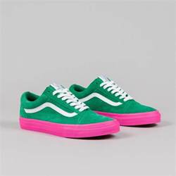 Converse Light Blue Vans Syndicate Old Skool Pro S Golf Wang Green Pink