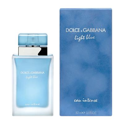 dolce and gabbana light blue pour femme dolce gabbana light blue eau intense pour femme 50ml