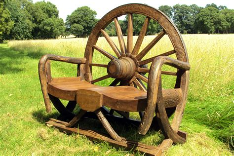 wheel garden bench garden benches to enhance your outdoor space