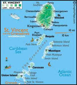 map st vincent and the grenadines the world s catalog of ideas
