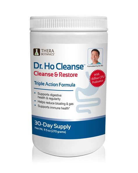 Restore Detox Reviews by Dr Ho Cleanse Cleanse Restore Formula
