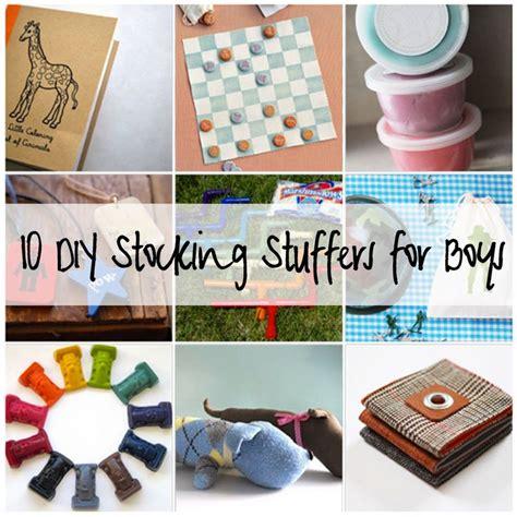 Handmade Stuffers - 10 diy stuffers for boys gifts