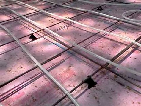 Pex Tubing and Rebar for Concrete Floor for ADU   YouTube