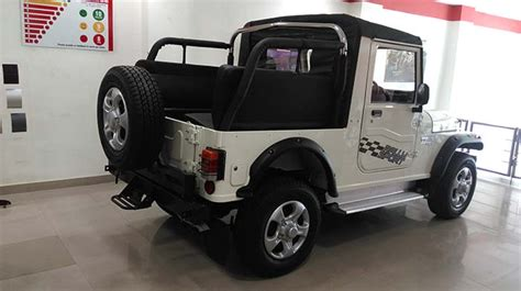 thar jeep white modified white thar vargis khan 2 vargis khan