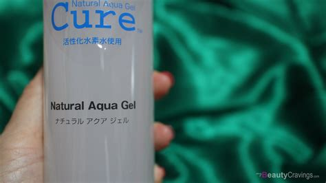 Aqua Cure Aqua Gel 1 review cure aqua gel gentlest exfoliator that