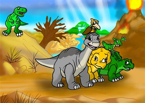 colored time land before time colored by enricthepenguin92 on deviantart