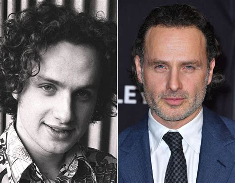 andrew lincoln rick grimes the walking dead then and now pictures pics express