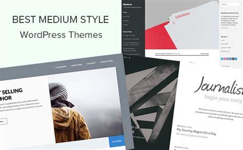 blog theme like medium 24 best medium style wordpress themes 2018