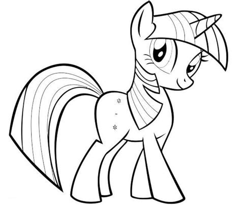 my little pony twilight sparkle coloring pages coloring home