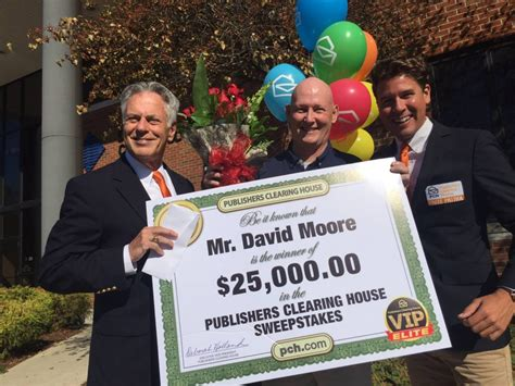 vip elite winner david moore pch blog - Pch Vip Elite
