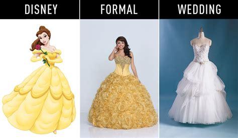 Des robes inspirées de vos princesses disney préférées   Mode nuptiale   Forum Mariages.net