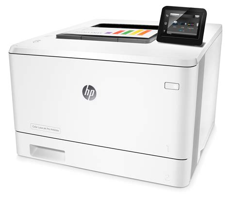 Printer Hp Laserjet Pro M154a hp color laserjet pro m452dw review computershopper