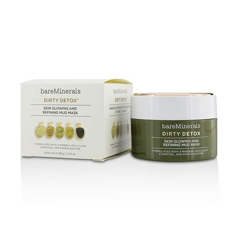 Bare Minerals Detox Mud Mask by Bareminerals Detox Skin Glowing And Refining Mud