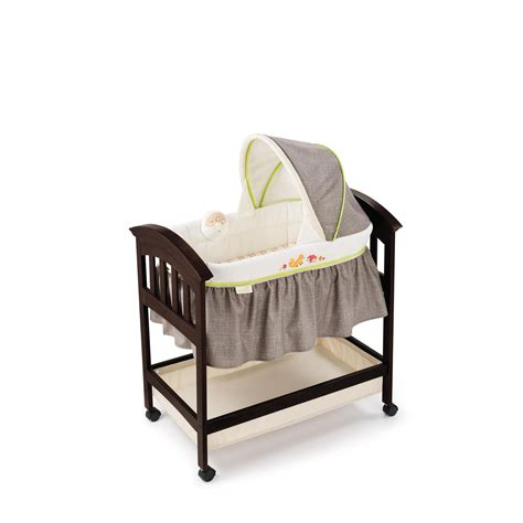 classic comfort wood bassinet summer infant fox friends classic comfort wood bassinet