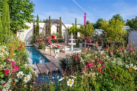 t vine turkish gardens awarded gold at hton court