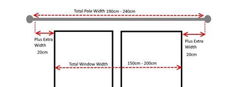 curtain pole width 28mm wood curtain poles