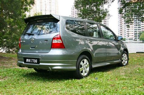 nissan malaysia nissan grand livina 1 8 auto review comparison with