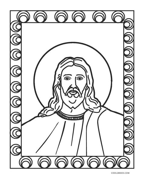 jesus coloring page free printable jesus coloring pages for cool2bkids