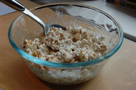 Cocoeatsandcritiques S Blog Eating And Critiquing My Way Flaxseed And Cottage Cheese