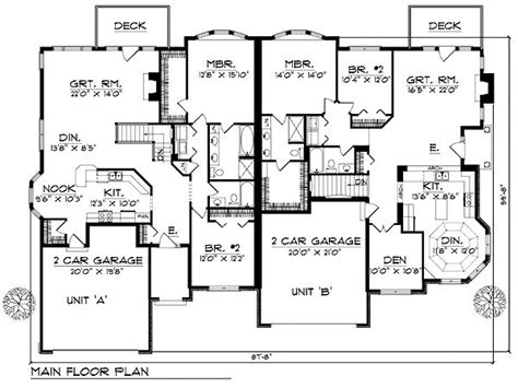 duplex with garage plans best 25 duplex plans ideas on duplex house plans duplex floor plans and duplex house