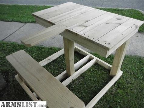shooting benches for sale armslist for sale lh rh combo shooting bench