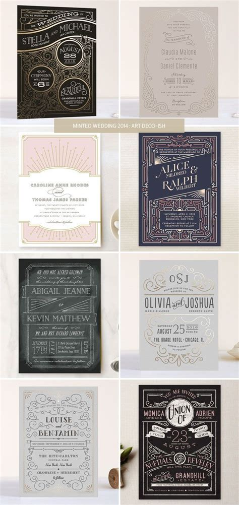 deco wedding stationery 25 best ideas about deco invitations on