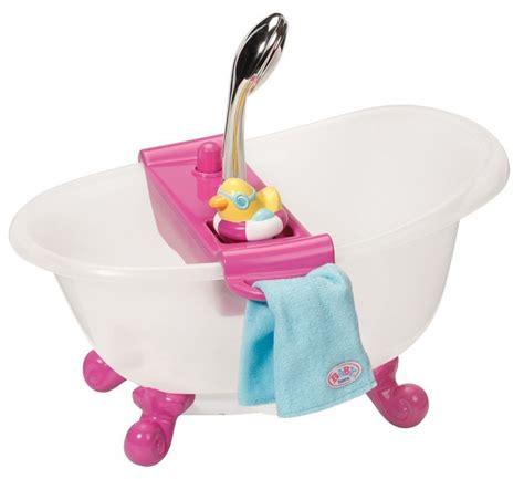 baignoire jouet baby born baignoire interactive poup 233 e 43 cm