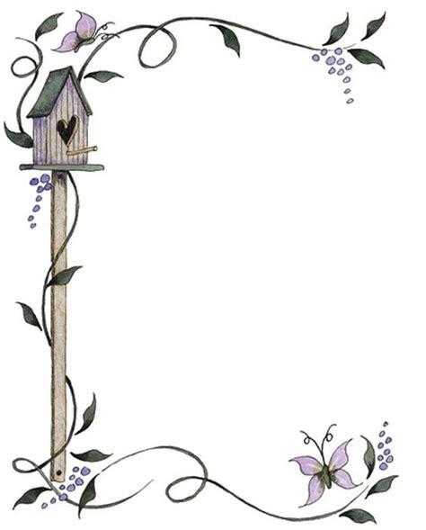 decoracion de cartas descargar bordes de pagina flores blanco y negro imagui