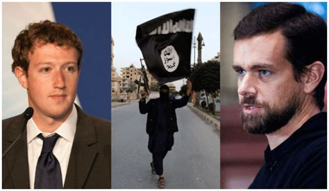 twitter founders isis threatens to kill facebook and twitter founders
