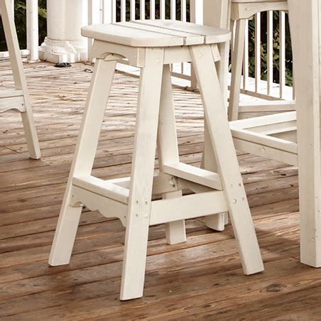 Outdoor Adirondack Bar Stools by Companion Adirondack Outdoor Barstool
