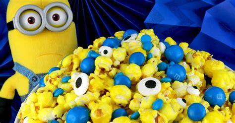 minions popcorn  sisters