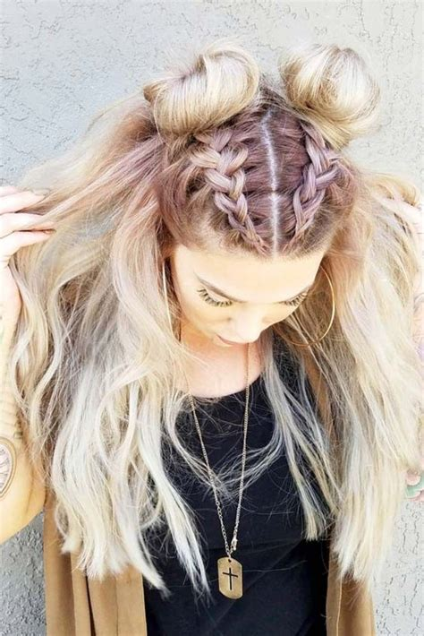 back to school boho hairstyles 30 boho and hippie hairstyles for chill vibes all year long