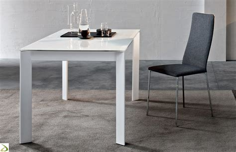 tavoli bianchi moderni tavolo allungabile da cucina arredo design