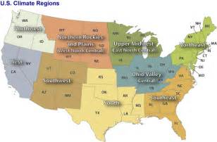 united states climate regions map u s climate regions monitoring references national