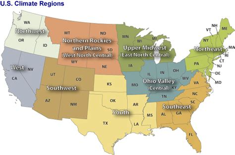 What Gardening Zone Am I In By Zip Code - u s climate regions monitoring references national centers for environmental information ncei