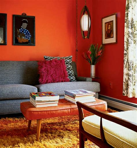 orange walls walls painting paint ideas for orange wall decoration fresh design pedia