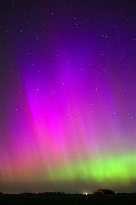 northern lights in june northern lights from south central nebraska june 23 2015