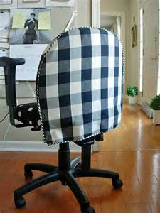 How To Make Desk Chair Covers Diy Office Chair Makeover With Fabric In My Own Style