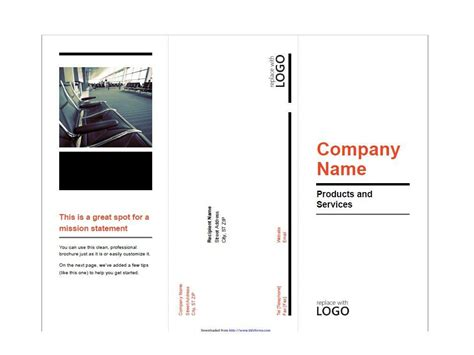 Free Brochure Templates by 31 Free Brochure Templates Word Pdf Template Lab