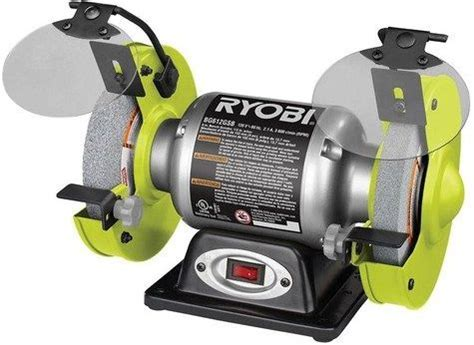 bench grinders reviews ryobi bench grinder review topbenchgrinders com
